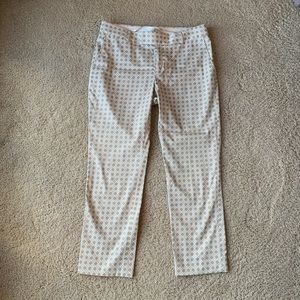 Banana Republic Knot-Patterned Pants